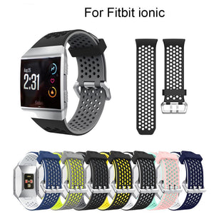 Silicone Watch Bands for Fitbit Ionic Smart Watch