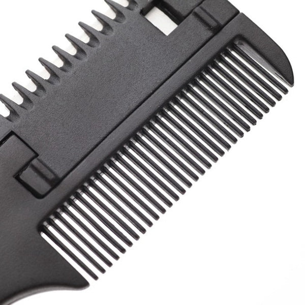 Simple Hair Trimmer / Hair Cutting Razor Blades Comb