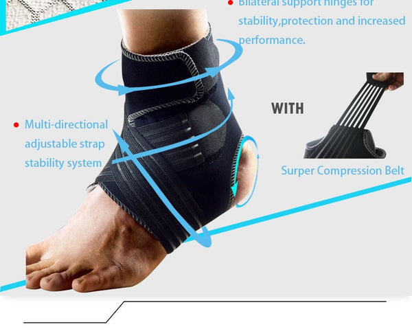 Ankle Brace Elastic Foot Guard