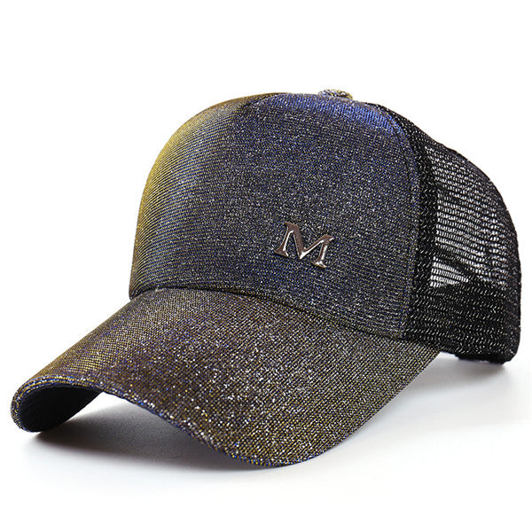 Women Glitter Baseball Caps