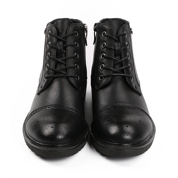 Vintage Lace Up Ankle Boots Soft Leather Flat Shoes
