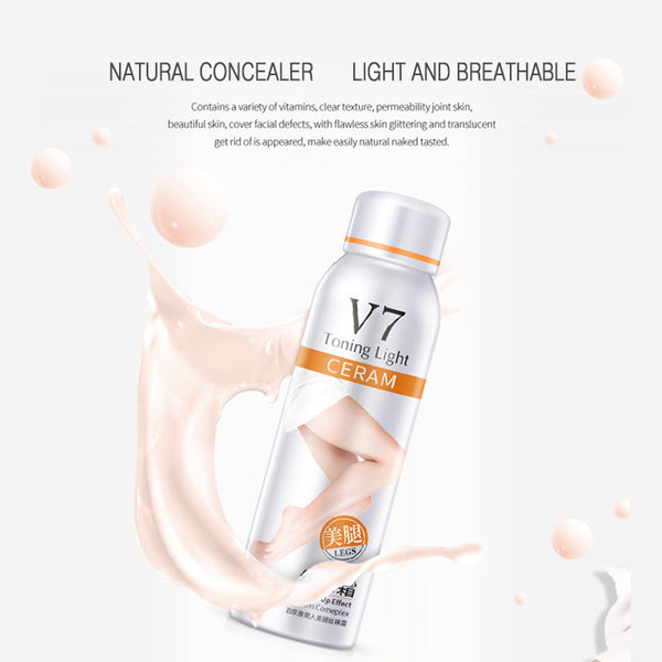Leg Concealer Spray Instant Tone Up Effect