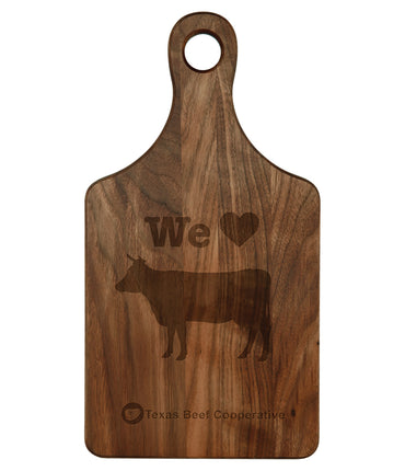 Walnut Paddle Shaped Cutting Board