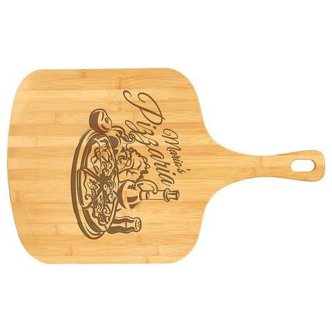 Bamboo Pizza Cutting Board