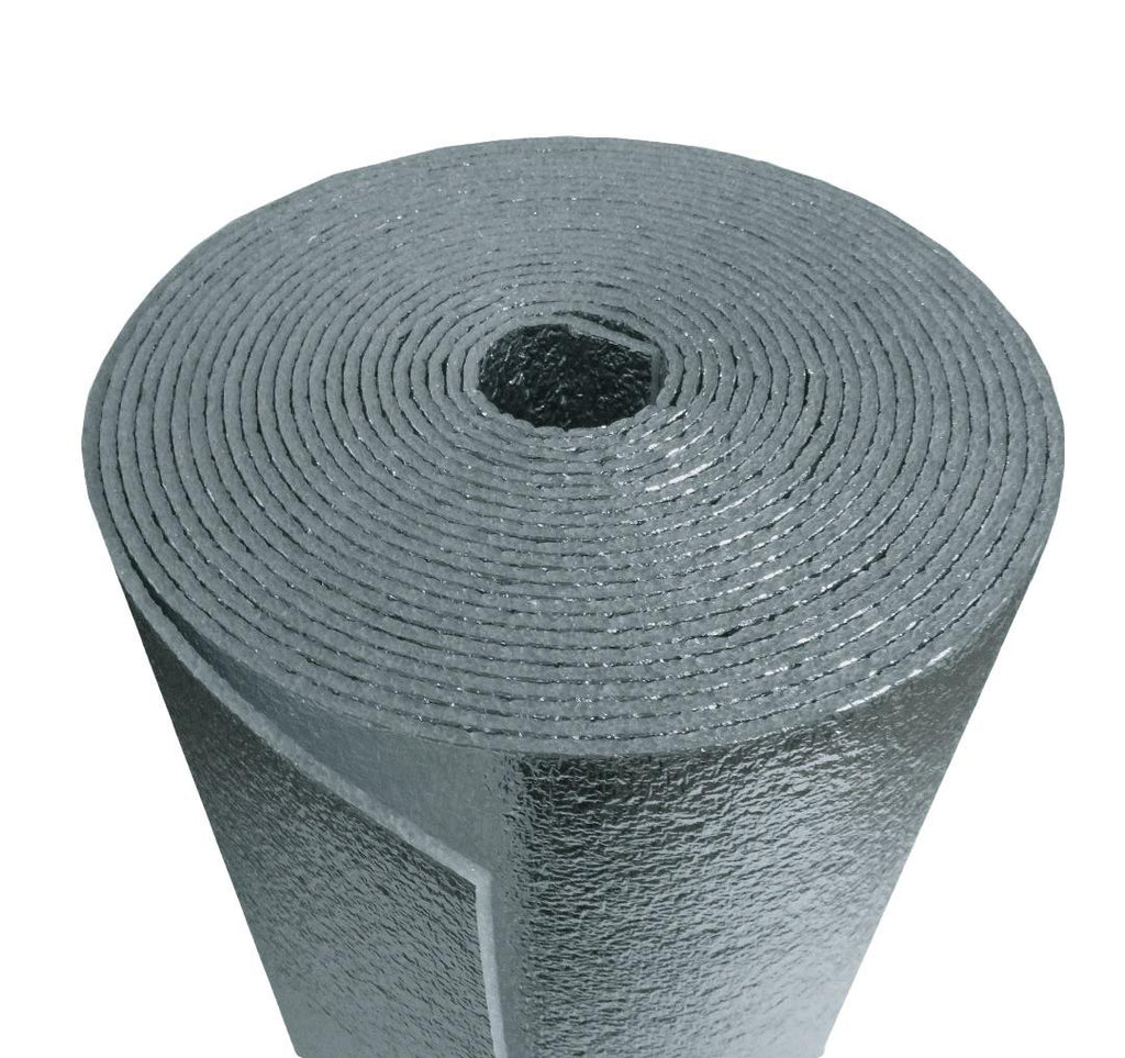 "Air duct 3""x250' Reflective Foam Core 1/4 inch thick HVAC Pipe Air Duct Wrap (3"" x 250')"
