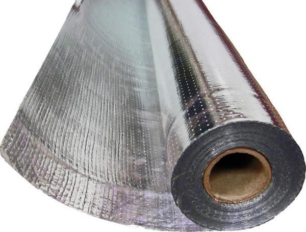 2ft x 200ft SAMPLES Platinum Plus Heavy Duty HD Perforated Barrier (8 Mil Thick) Reflective Insulation