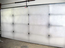 Single 10'Lx10'H GDK White Foam (4 Panels ) Core Insulation Kit 10'L x10'H