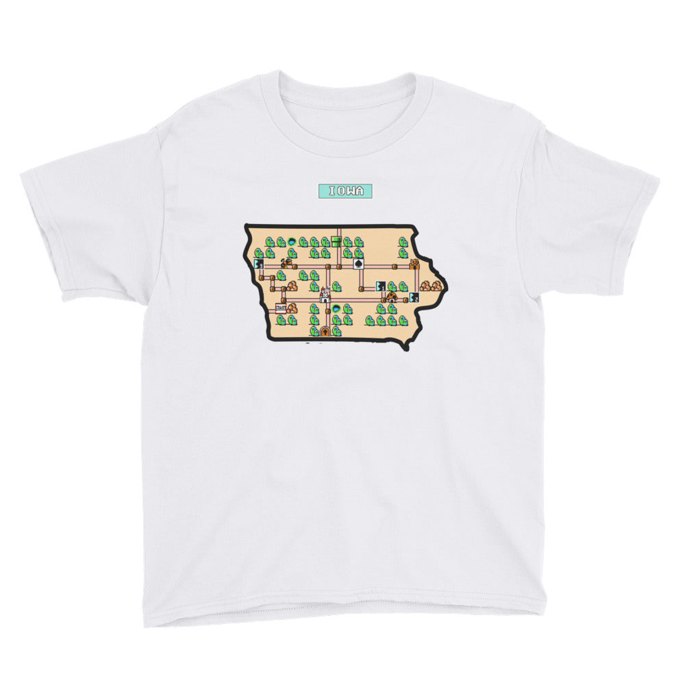 Youth Short Sleeve T-Shirt - Super Iowa Bros