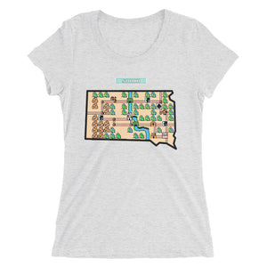 Ladies' short sleeve t-shirt - Super Sodak Bros