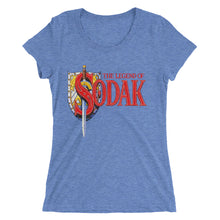 Ladies' short sleeve t-shirt - The Legend of Sodak