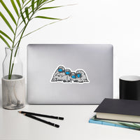 Mt. Maskmore - Bubble-free stickers
