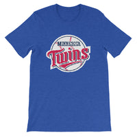 Short-Sleeve Unisex T-Shirt - 8bit Twins Baseball