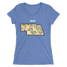 Ladies' short sleeve t-shirt - Super Neb Bros