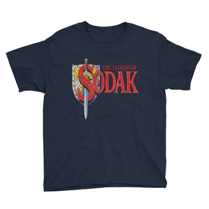 Youth Short Sleeve T-Shirt - The Legend of Sodak