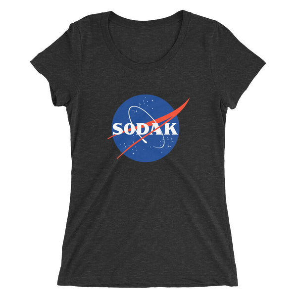 Ladies' short sleeve t-shirt - The Final Frontier