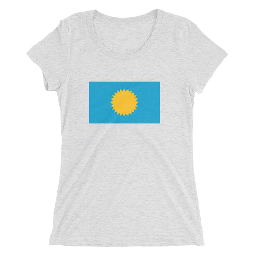Ladies' short sleeve t-shirt - We (the people) Rule
