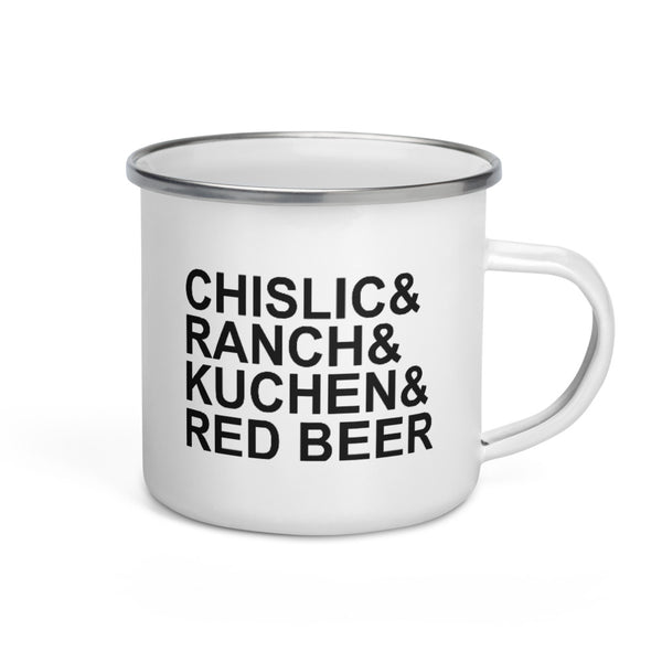 Enamel Mug - It's Chislick-In' Good