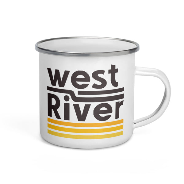 Enamel Mug - West Side