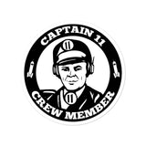 Bubble-free stickers - Crew Member