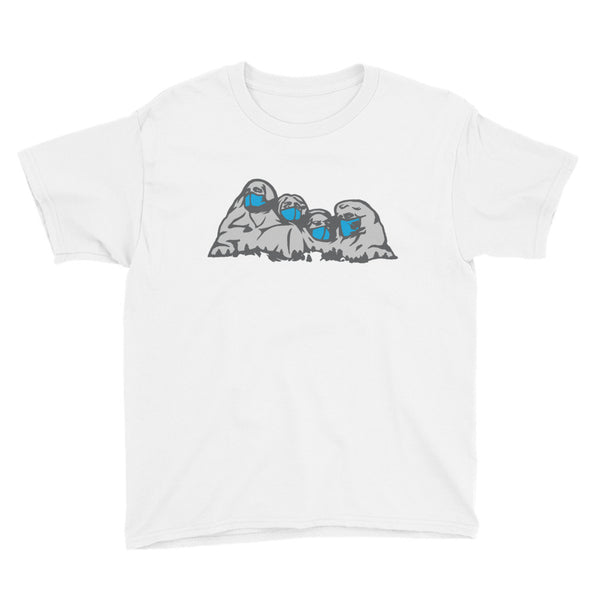 Mt. Maskmore - Youth Short Sleeve T-Shirt