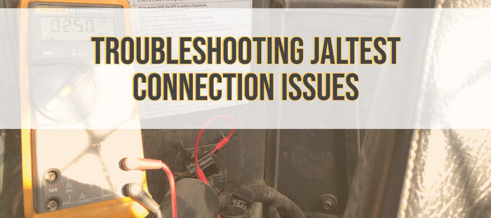 Troubleshooting Cojali Jaltest Connection Issues