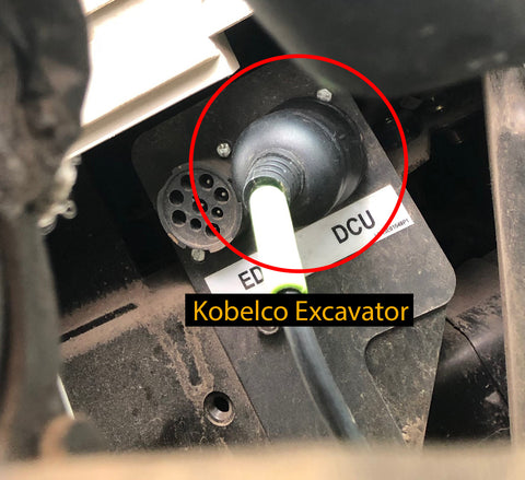 Kobelco Excavator Connection - FPT Engine