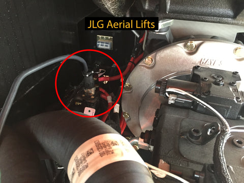 JLG Aerial Lift Cable Connection