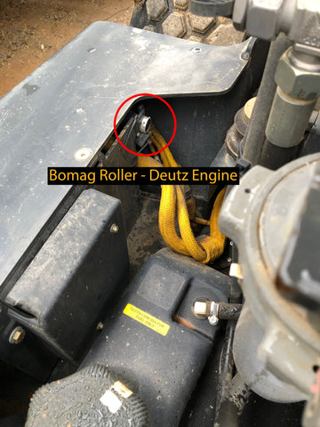 Bomag Roller Cable hookup