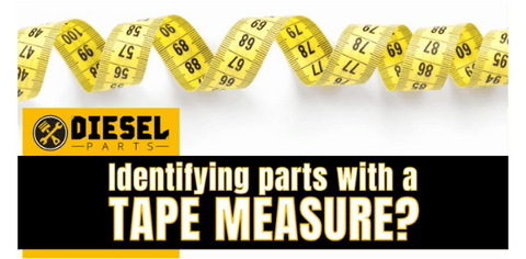 Identifying parts with a tape measure