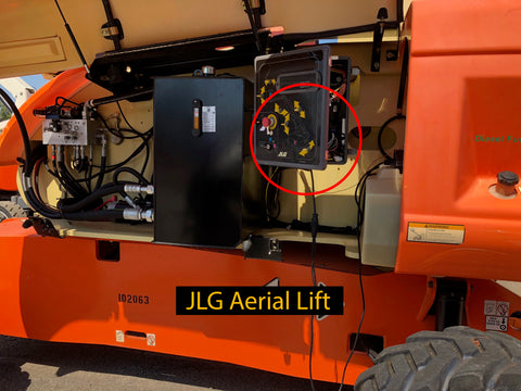 JLG Aerial Lift Cable Hook up