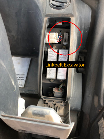 Linkbelt Excavator Cable Connection
