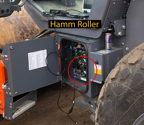 Hamm Roller Cable Connection