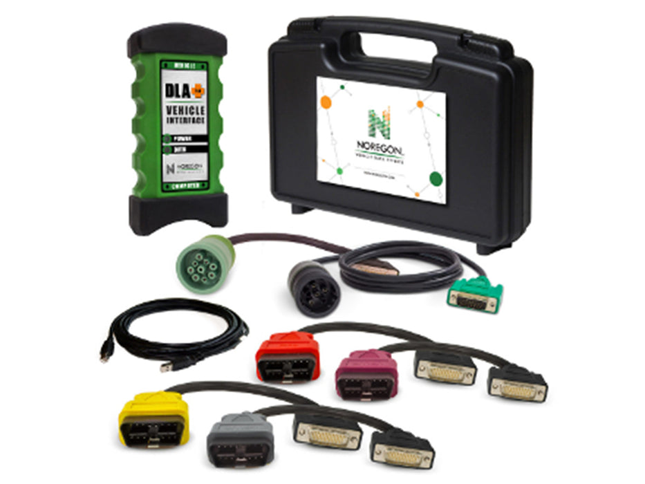 Noregon JPro DLA+ 2.0 Adapter Kit with 12-Month Subscription to Truck Fault Codes