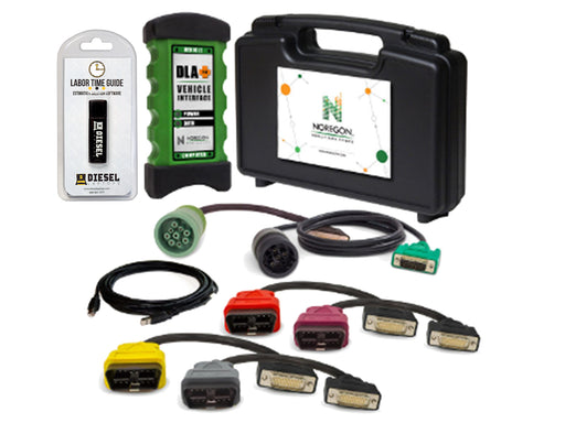 Noregon JPro DLA+ 2.0 Adapter Kit with Labor Time Guide