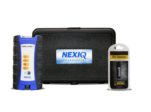 Nexiq USB Link 2 with DTC Solutions Troubleshoot Codes