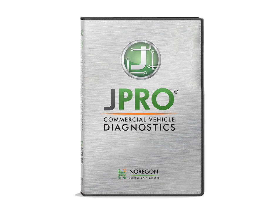 JPRO Commercial Vehicle Diagnostics with Next Step and 12-Month Subscription to Truck Fault Codes