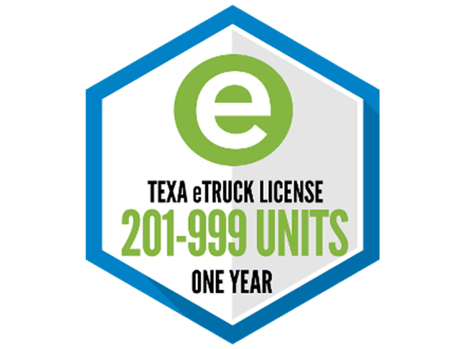 TEXA eTruck Software License for 201-999 Units