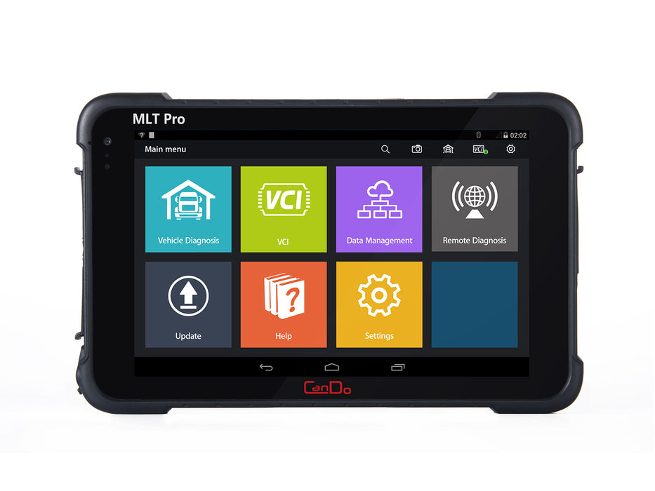 CanDo MLT Pro Tablet Medium and Light Duty Diagnostic System