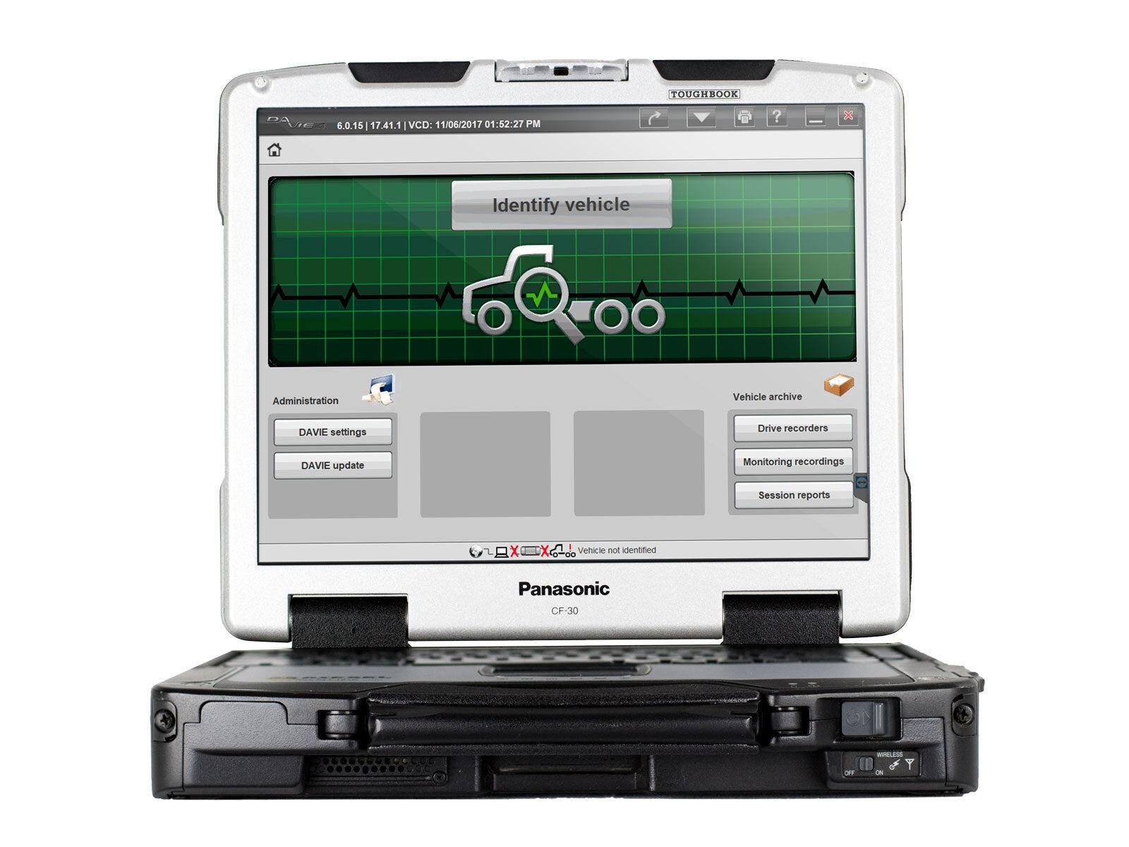 PACCAR Davie4 Diagnostic Software License Renewal with CF30