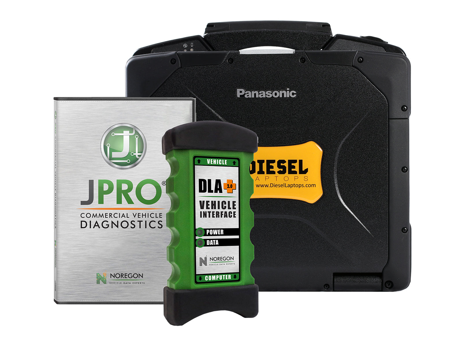JPRO Heavy Truck Diagnostic Scanner Tool with Repair Information