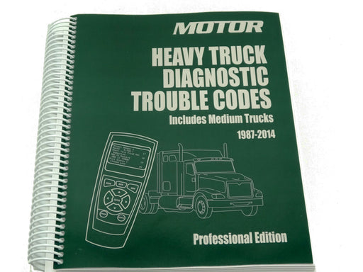 Heavy Truck Diagnostic Trouble Code Book 1987-2014