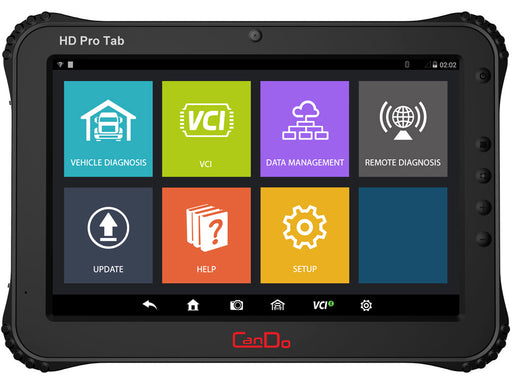 CanDo HD Pro Tab Tablet Truck Diagnostic System
