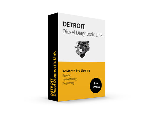 Detroit Diesel Diagnostic Link v8 & v6 Combo Pro Edition - 12 Month License