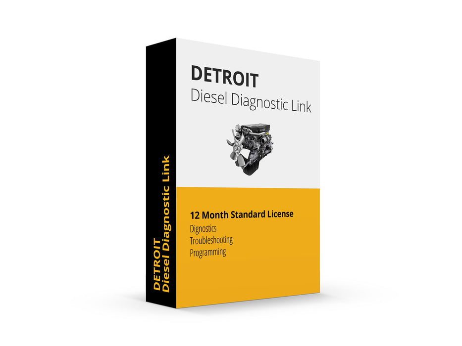 Detroit Diesel Diagnostic Link Laptop Scanner Tool