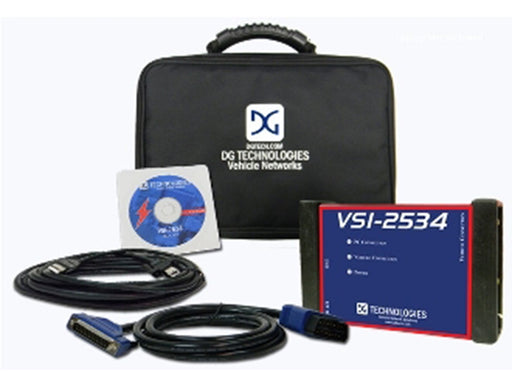 DG Tech VSI J2534 ECU Reprogrammer & Diagnostic Adapter