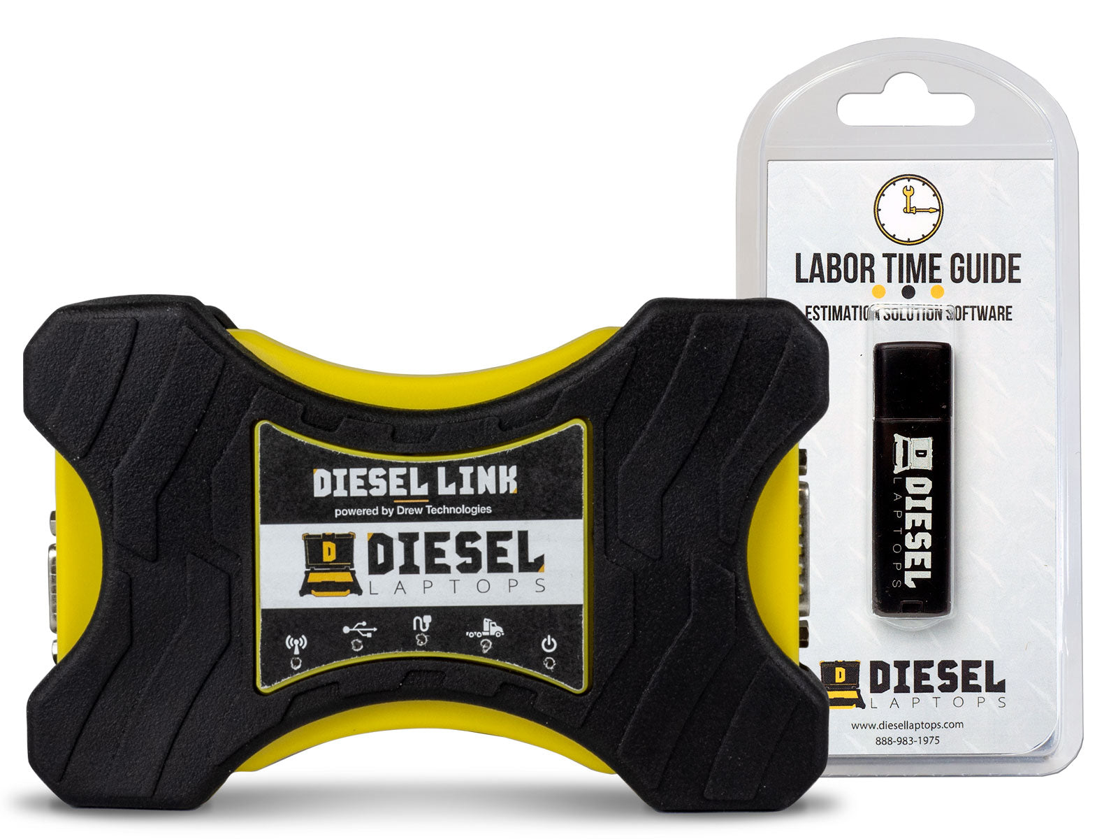 Diesel Laptops DieselLink with Labor Time Guide