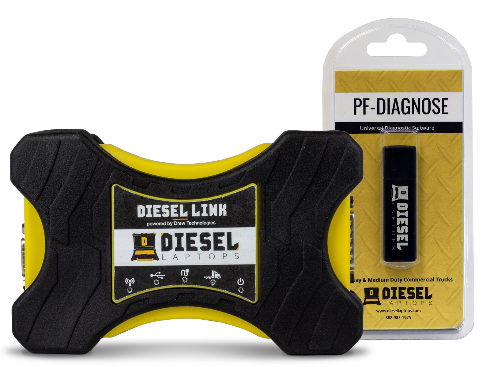 Diesel Laptops DieselLink with PF-Diagnose