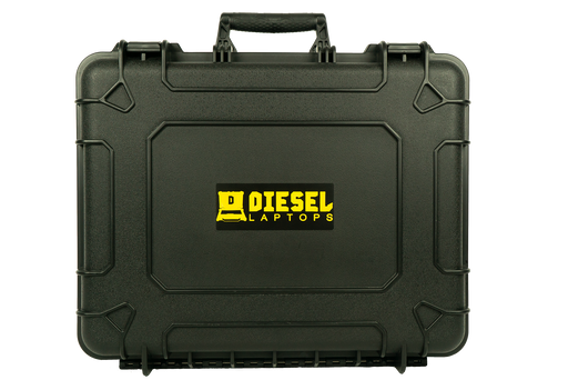 USED Diesel Laptops Black Tough Case
