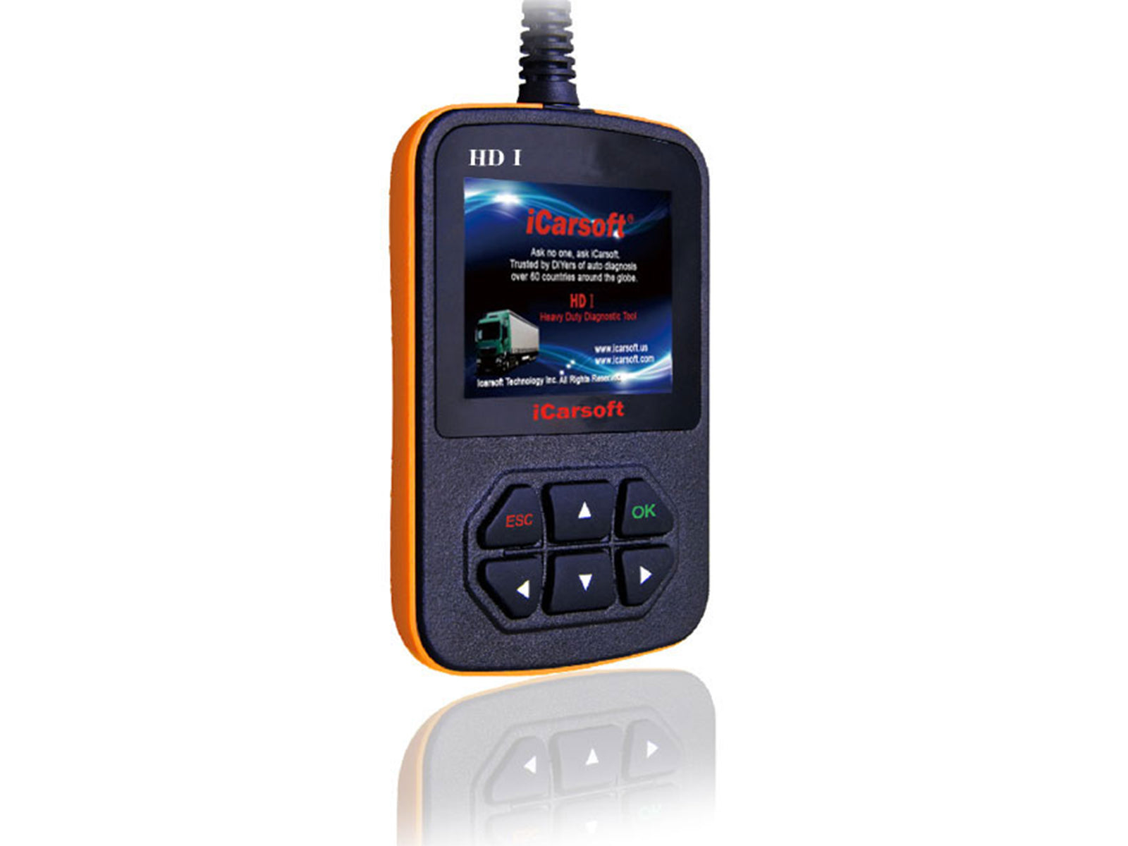 Heavy Duty Diagnostic Handheld Scanner Tool HD1