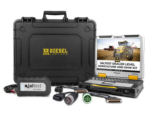 Cojali Jaltest Agriculture and Off-Highway Diagnostic Laptop Tool